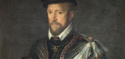 Portrait de Gaspard de Coligny, qui devint chef des protestants pendant la Réforme