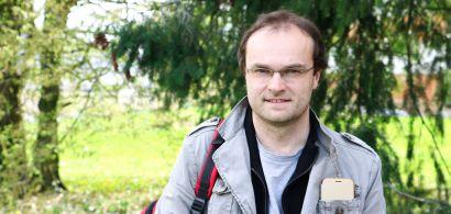 Photo de Renaud Scheifler, enseignant-chercheur en écotoxicologie à l'Université de Franche-Comté