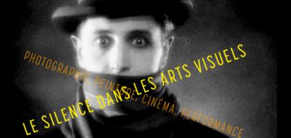 """Affiche """"Silence dans les arts visuels"""""""