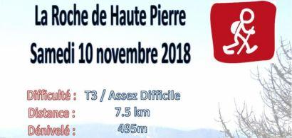 Affiche Rando Haute Pierre