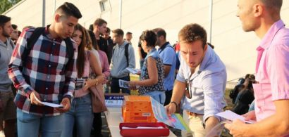 Journée de rentrée Universitaire, première année de Licence Staps, Upfr des Sports de Besançon