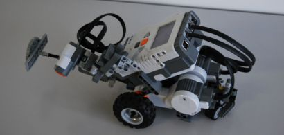 Photo d'un robot Lego