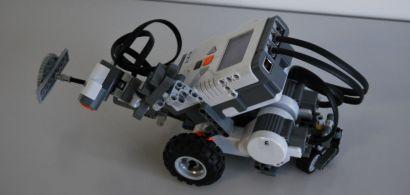 Photo d'un robot Lego
