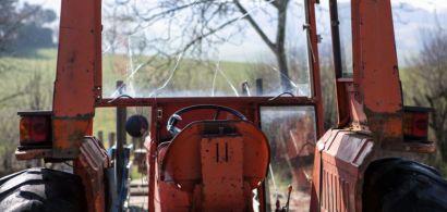 Photo d'un tracteur
