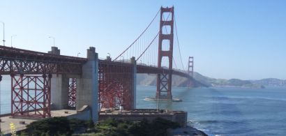 Vue du golden gate bridge