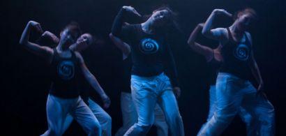 Les danseuses de Naka Danse pendant un spectacle