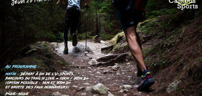 Affiche Sortie trail
