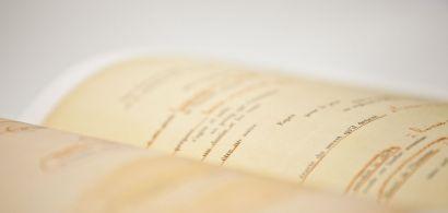 Photo des pages d'un livre