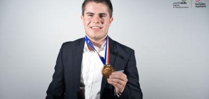 Médaille de bronze aux Olympiades des métiers pour Thomas Jullien, ancien étudiant de l'IUT de Belfort-Montbéliard