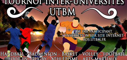 Tournoi multisport inter-universités du BDS de l'UTBM
