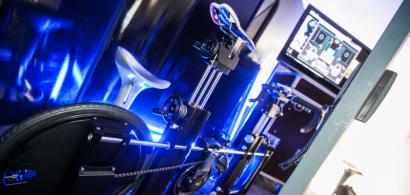 Le système Bikefitting dans les locaux du COPS