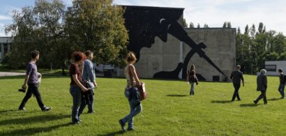 visite balade sur le campus