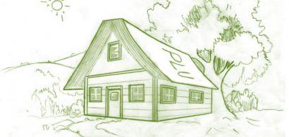 Dessin d'une maison