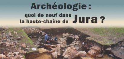 Affiche conférence archéologie Pontarlier