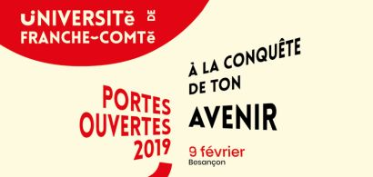 Portes ouvertes 2019 - sites de Besançon
