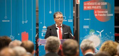 Jacques Bahi pendant son discours