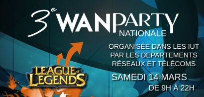 3ème Wan Party R&T nationale le 14 mars 2015