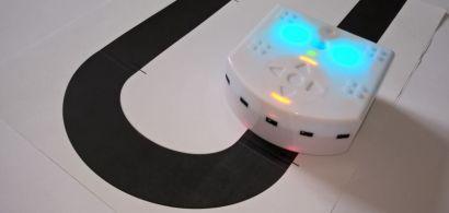 suivi de ligne par le robot Thymio
