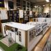 Une grande maquette de la bibliothèque exposée dans les locaux de la bibliothèque.