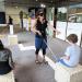 Un atelier pour expérimenter ce que vivent les personnes aveugles lorsqu'elles se déplacent