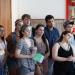 Un groupe d'étudiants