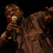 Un chanteur sur la scène du Kursaal