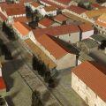 Image 3d de la cité romaine de Mandeure