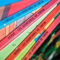 Photo d'une pile de BD de Tintin